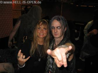 Watain und Bettina