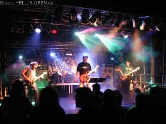 Griefless auf dem Neuborn Festival 2005 in Wörrstadt