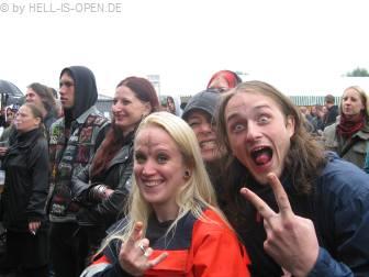 Fans bei Inhumate