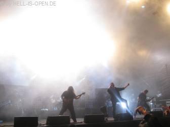 Morgoth auf ihrer 20th Anniversary Tour
