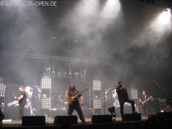 Morgoth auf ihrer 20th Anniversary Tour