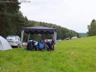 Romantischer Campground