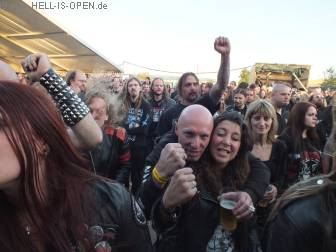 Fans bei Gospel of the Horns