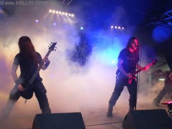 Rotting Christ mit Black Metal aus Griechenland