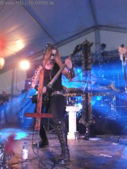 Darkened Nocturn Slaughtercult mit Black Metal aus Deutschland