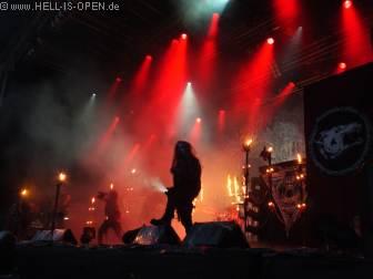 WATAIN mit Black Metal aus Schweden