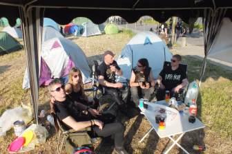 Abhängen am Camp