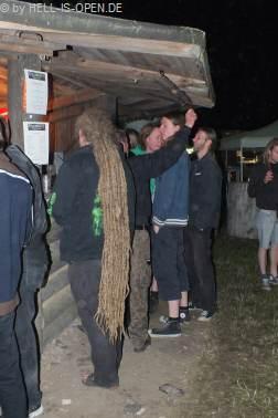So lange Haare arbeiten bei Cudgel