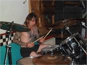 Drummer bei Blood Patrol