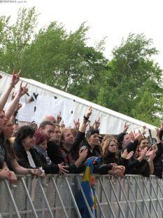 Fans bei den Schweden!