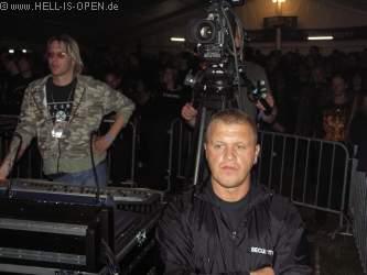 OBSCENITY Die Technik im Zelt
