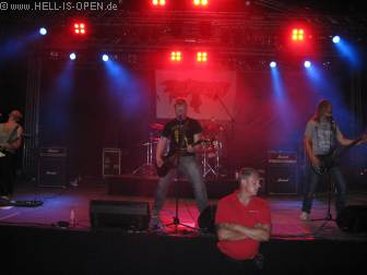 Aftershow act Relicseed am Freitag