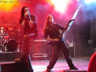 Path Of Golconda die einzige Death Metal beim NOAF 2012 muss als After Show Act um 0:15 Uhr ran