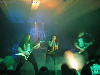 Obscure Infinity mit old school Death Metal