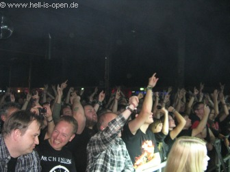 Fans bei ARCH ENEMY