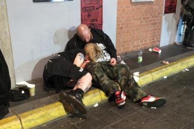 Müde Menschen