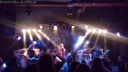 Deserted Fear mit old school Death Metal als Headliner