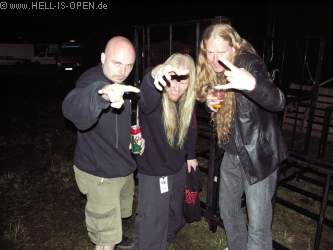 Backstage Division 666, Suffocation (Guy Marchais, Gitarre), Severe Turture