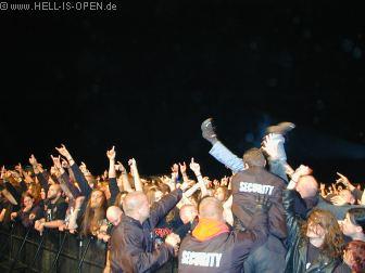 NAPALM DEATH Die Fans sind begeistert