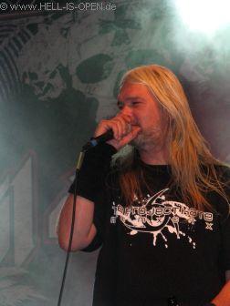 Hail Of Bullets mit Sänger Martin van Drunen