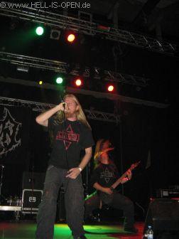 Insision aus Schweden sind der Late night Act mit Death Metal