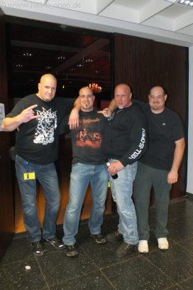 4 sehr kurzhaarige Fans ;)