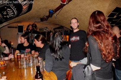Aftershow-Party (Members von Eraserhead und Flesh Divine)