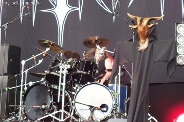 INQUISITION eine 2-Mann Black Metal Band der Extraklasse