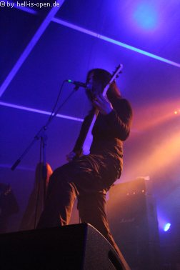 THULCANDRA überzeugen als letzte Band des Abends auf der Undergroundstage