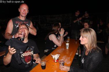 Backstage booze
