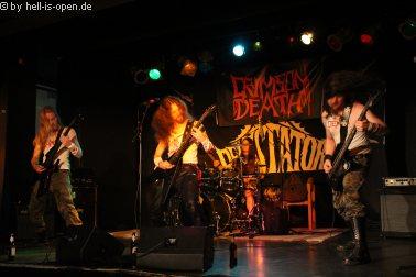 Crimson Death aus dem Raum Stuttgart machen den Anfang für den Path of Death 3