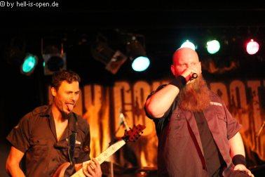 Lay Down Rotten aus Hessen sind der Headliner