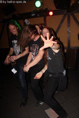 Aftershowparty: Bands feiern die geile Mucke im ATG