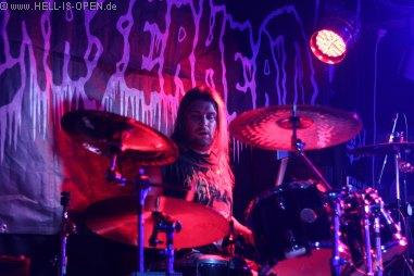 Eraserhead mit Matze am Schlagzeug