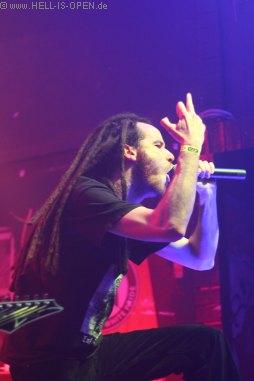 Eraserhead mit Death Metal aus Limburg Sänger Marco