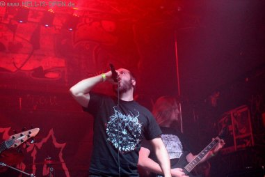Wound mit Crustigem Death Metal aus Wiesbaden sin der Headliner des Abends