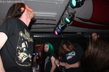 Eraserhead und Fans gehen steil
