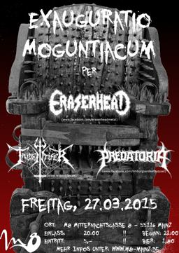 "Flyer zum ""Exauguratio Moguntiacum"""