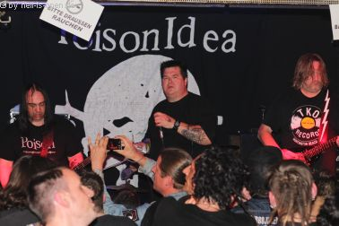 Poison Idea mit Hardcorepunk aus den USA