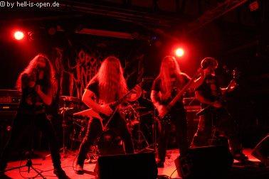 Obscure Infinity aus dem Westerwald mit old school Death Metal spielen als 2. Band des Abends