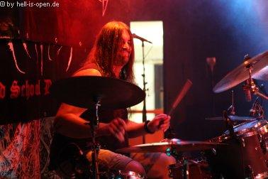 Reckless Manslaughter mit Pneumator an den Drums