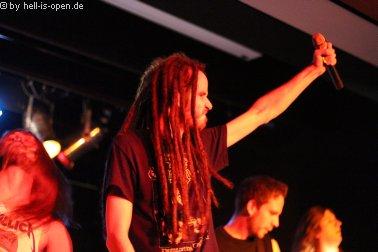 Eraserhead aus Limburg sind die Nummer 2 des Tages. Der letzte Gig in der alten Formation mit Mraco und Matze
