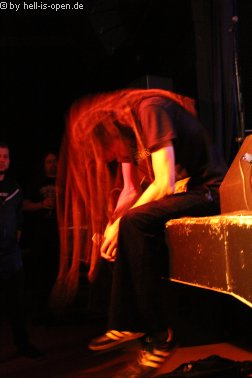 Eraserhead Sänger Marco legt gleich los