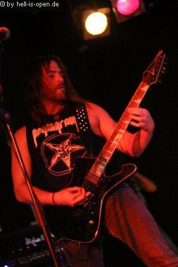 Wound Gitarrist S. Last