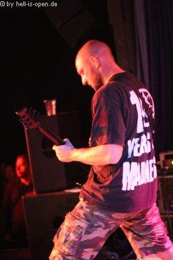 Torture Killer Gitarrist Jari Laine