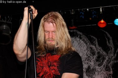 Torture Killer Sänger Pessi Haltsonen