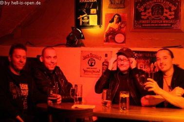 Aftershowparty im ATG Mainz Massive Assault haben Spaß