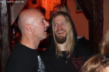Aftershowparty im ATG Mainz Torture Killer Pessi und HIO Mitch 03:40 Uhr