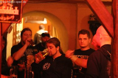 Aftershowparty im ATG Mainz HIO Crew 04:01 Uhr