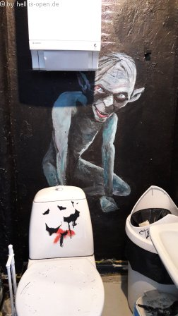 Art on the toilett